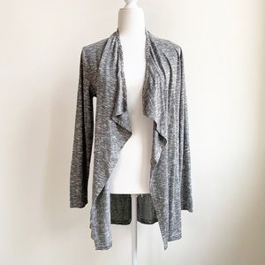 Juicy Couture Embellished Cascade Cardigan Grey M